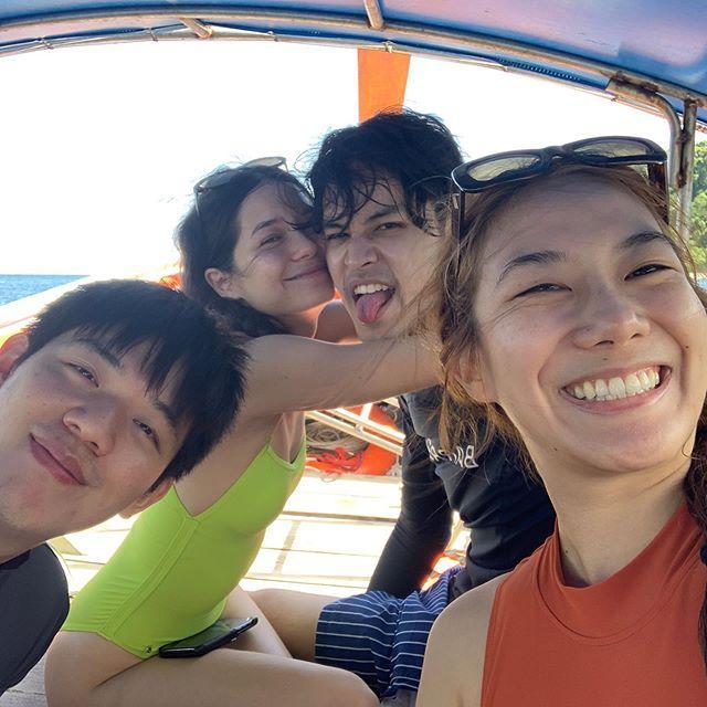 เก้า จิรายุ – วี วิโอเลต ทำน้ำทะเลหวาน ได้เลยทีเดียว