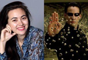 เจสสิกา เฮนวิค ที่ได้ร่วมงานกับ คีอานู รีฟ ในภาพยนตร์ เรื่องเดอะแมทริกซ์