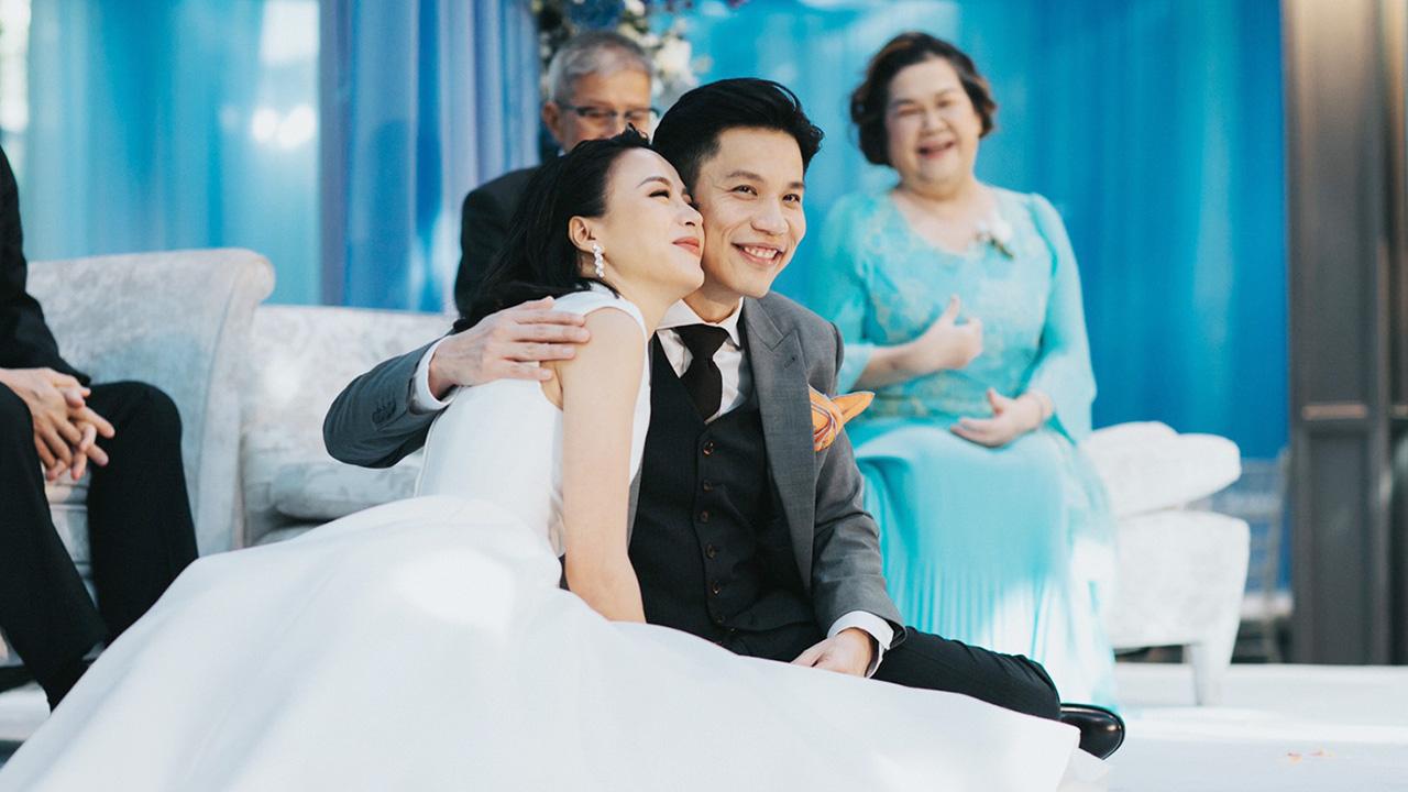 มาร่วมแสดงความยินดี ในงานมงคลสมรสของ รถเมล์ คะนึงนิจ กันค่ะ