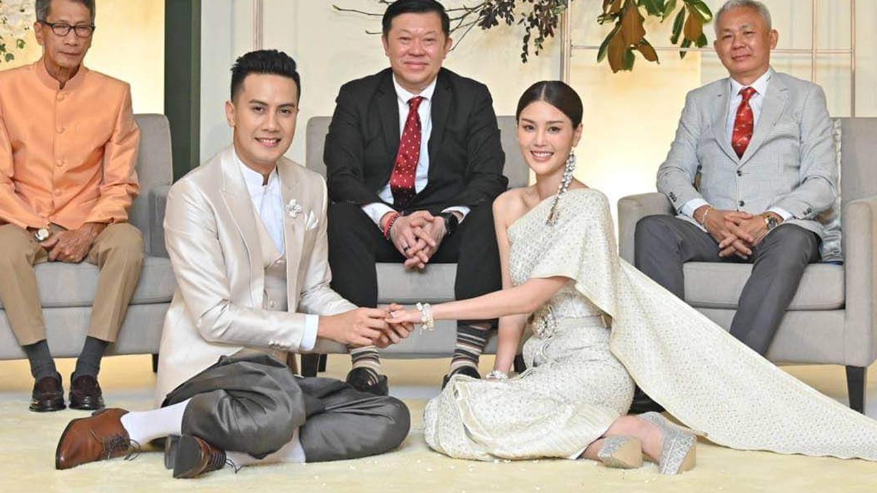 เป้ วงมายด์ นักร้องชื่อดัง เข้าพิธีแต่งงาน กับแฟนสาวน้องกร เรียบร้อยแล้ว