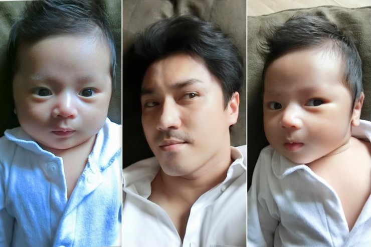 น้องเลโก้ ลูกชาย เอ พศิน ผิวพรรณดีงามมาตั้งแต่เกิด
