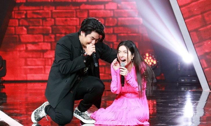 ความน่ารักของ จียอน ฮั่น ในรายการนักร้องหลังกำแพง