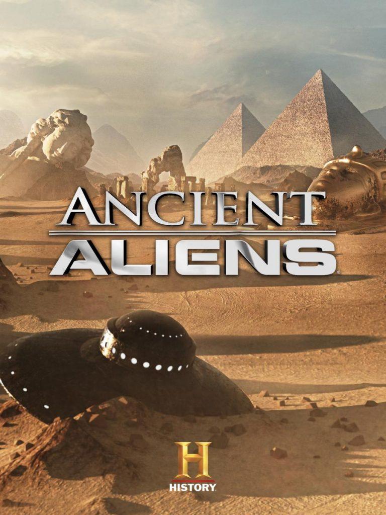 """Ancient Aliens สารคดีที่พูดถึงการมีอยู่จริงของ """"เอเลี่ยน"""" ในประวัติศาสตร์กำลังจะถูกสร้างลงจอเงิน"""